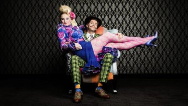 Mr and Mrs Wormwood, played by Marika Aubrey and Daniel Frederiksen, have more important concerns than raising a daughter.