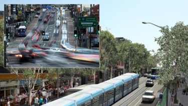Parramatta Road, now and then ... the proposal for the transformation of Parramatta Road is based on building the M4 East under nearby suburbs.