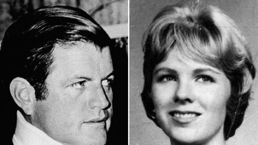 Denied an affair ... Ted Kennedy and Mary Jo Kopechne, who died at Chappaquiddick.