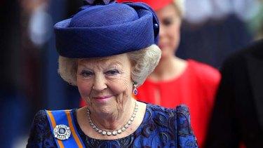Stood down: Princess Beatrix.