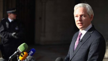 Julian Assange has completed 12 episodes of <i>The World Tomorrow</i>.
