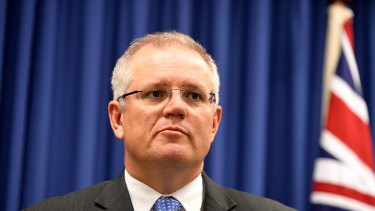 """It's a """"once-in- a-government"""" opportunity for Federal Treasurer Scott Morrison."""