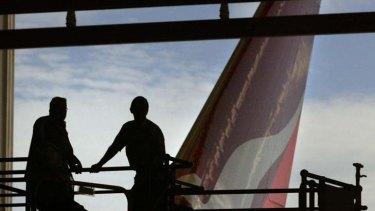 Job cuts ... Qantas slashed 500 jobs yesterday and warns of more to follow.