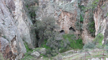 The abandoned mineshaft at Whroo where the man's body was found.