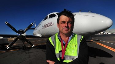 Routes axed... Brindabella Airlines chief executive officer, Jeff Boyd.