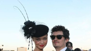 Baby rumours ...  Orlando Bloom and Miranda Kerr.