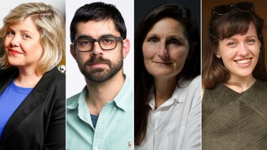 Sarah Danckert, Mario Christodoulou, Joanne McCarthy and Carrie Fellner.