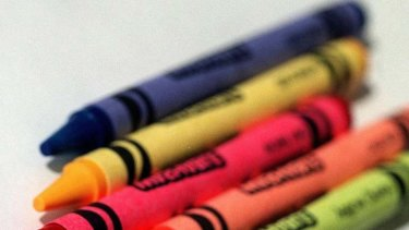 Ban lifted ... crayons and colour pencils.