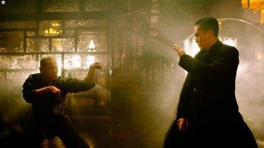 Tony Leung, right, stars as Tony Ip in <i>The Grandmaster</i>.