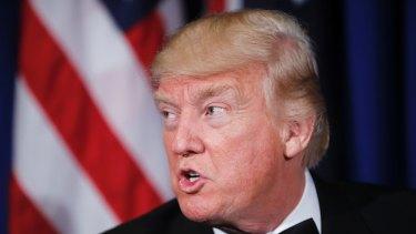 Donald Trump, the destabiliser.