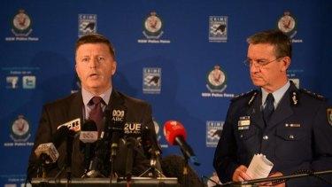 Vigilant: NSW Police Commissioner Andrew Scipione.