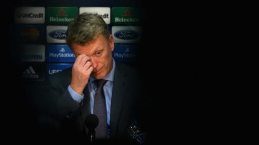Moyes lacked the edginess with the media that his predecessor Sir Alex Ferguson was so adept at.