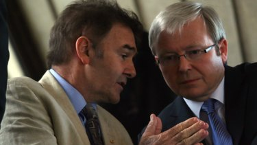 Kevin Rudd has paid tribute to Chris O'Brien.