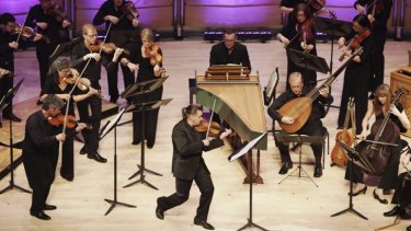 The overwhelmingly talented Dmitry Sinkovsky with the Australian Brandenburg Orchestra.