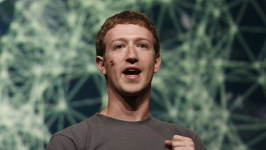 Facebook is being sued by its users for monitoring their online activity after logging off, CEO Mark Zuckerberg, above.