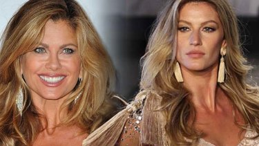 Kathy Ireland (L) Gisele Bundchen: most of the top earning supermodels run their own business ventures.