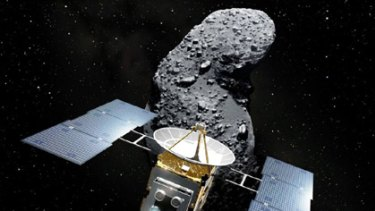 Asteroid explorer... the Hayabusa Spacecraft.
