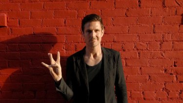 Wil Anderson plays up in LA.