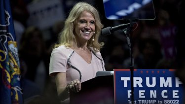 Kellyanne Conway, campaign manager for Donald Trump.