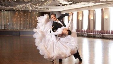 Vaughan and Alison Liddicoat on the dance floor.