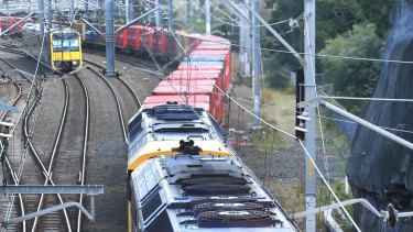 The inland freight rail line needs more scrutiny.