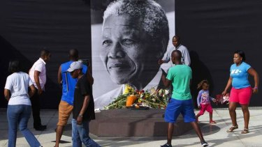 Mandela credited sanctions as a major factor leading to the fall of apartheid.