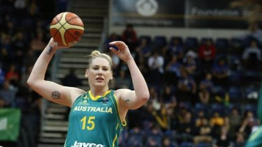 Under the knife: Lauren Jackson has had more surgery, and will miss the world championships as well as the start of the WNBL season.