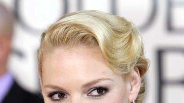 Playing by her own rules ... Katherine Heigl.