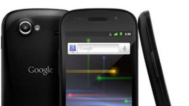 "Launching in Australia ""soon"" ... Google's Nexus S."
