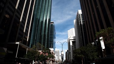 Vacant office space is on the rise in Perth.