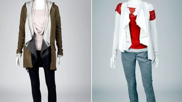 Layers ... Lunch  (left) and casual.