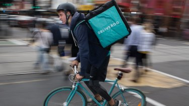 Bicycle-riding food couriers have revolutionised the delivery industry.