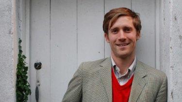 Man with a plan...social entrepreneur Simon Griffiths.