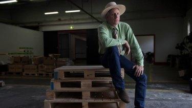 Horsing around, for real: Horse whisperer Buck Brannaman, subject of the excellent documentary <i>Buck</i>.