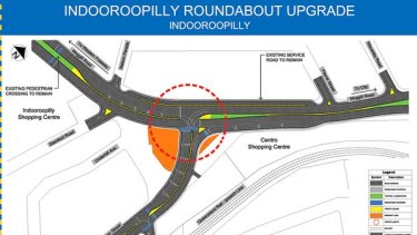 New plan for Indooroopilly roundabout
