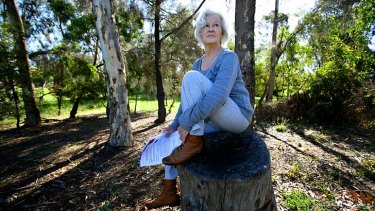 Ascot Vale resident Dalene Shepherd is concerned about the proximity of the planned off-ramp to her home.
