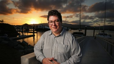 """George Christensen: """"I think the national anthem is just fine as it is, along with the flag."""""""