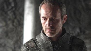 Watch your tongue ... Stannis Baratheon's a grammar Nazi.