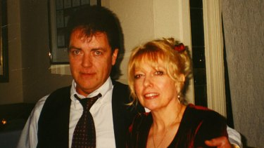 Killed ... Terence and Christine Hodson.