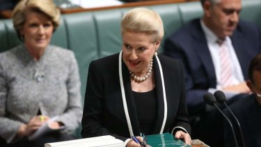 Bronwyn Bishop has made controversial comments about Gonski reforms.