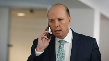 Home Affairs Minister Peter Dutton has broad powers to set aside AAT decisions.