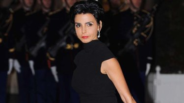 Rachida Dati ... filed a paternity case in October.