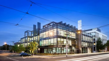 There are a diversified mix of tenants at 5 Burwood Road, Hawthorn.