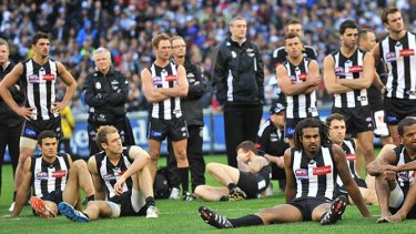 Collingwood reflects on its grand final defeat.