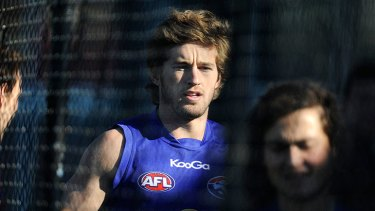 Departing: Bulldog Callan Ward will join Greater Western Sydney on a five-year contract.
