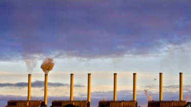 Up in smoke ... the Hazelwood power plant is one of the worst polluters of its type in Australia, and it shows up the deficiencies in the Opposition's carbon reduction policy.