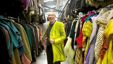 John Molloy, wardrobe supervisor, has been with the Melbourne Theatre Company for 40 years.