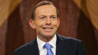 Unpopular: Prime Minister Tony Abbott.