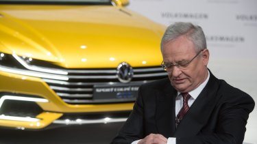 One week before BHP announced its hybrid issue Volkswagen lurched into full-blown crisis mode as its CEO Martin Winterkorn fell on his sword.