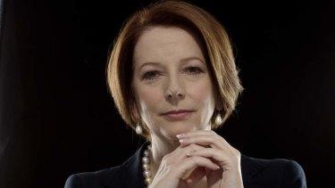 Choose wisely: Former Prime Minister Julia Gillard.